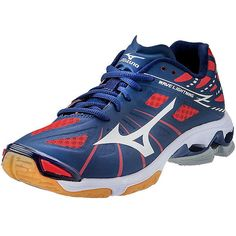 mizuno womens volleyball shoes size 8 x 3 inch mujer roja