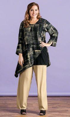 Caridee Tunic / MiB Plus Size Fashion for Women / Summer Fashion  http://www.makingitbig.com/product/5239