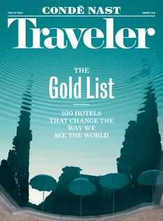 Noted: New Logo for Condé Nast Traveler done In-house with Henrik Kubel