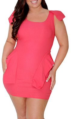 Sonnets (Plus/Pink)-Great Glam is the web's best sexy plus size online store clothing website for 1X 2X and 3X clothes for women and juniors.