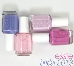 essie Bridal Collection 2013 Review, Photos, Swatches - MUST grab these for the wedding!