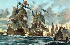 <b>Spanish</b> Armada (1588) Photograph