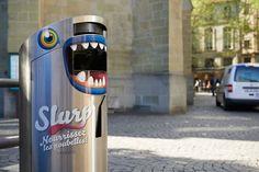 Transistor - communication & événements, Lausanne, Suisse - SLURP! - Campagne anti-littering