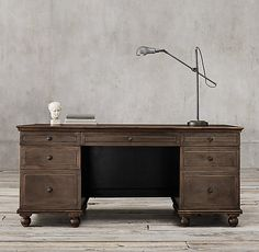 """Annecy Metal-Wrapped 69"""" Desk"""