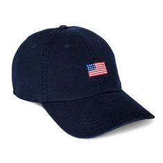 Men s Americana Flag Dad Hat - Goodfellow   Co™ Navy One Size 90749a53fd5d