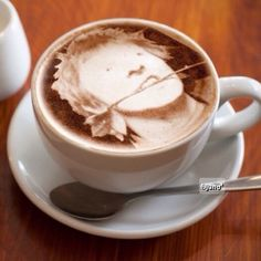 Cappccino  Rat Scabies  #cappccino #coffee #cup #tableware #drink #today #thedamned #drummer #ratscabies #59th #happybirthday #punk #rock #ラットスキャビーズ #ダムド #カプチーノ  特徴あるとアイコンにしやすい。 Electric Warrior, Rats, Keep It Cleaner, Antique Jewellery, Coffee, Tableware, Desserts, Food, Music