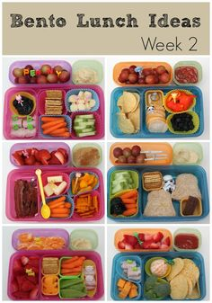 Smashed Peas and Carrots: Bento Lunch Ideas: Week 2