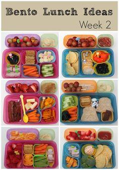 Bento Lunch Ideas: Week 2