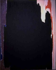 Clyfford Still- way of distributing colour/colour break up in col story