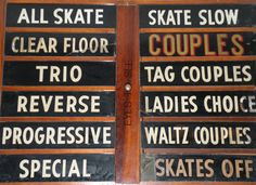 80's roller rink.  I never did get to skate during couples skate.  lol