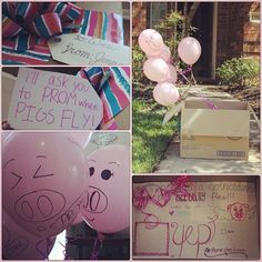 How I asked Wes to prom last year!