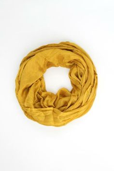 Mustard Infinity Scarf $18