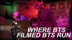 TRIP TO EVERLAND (WHERE BTS FILMED BTS RUN) Bts, Running, Film, Fictional Characters, Movie, Film Stock, Keep Running, Why I Run, Cinema