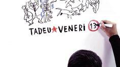 """Bacana o vídeo com o jingle da campanha de Tadeu Veneri (PT) à prefeitura de Curitiba. A animação, estilo stop motion, me lembra um """"mapa mental"""" sendo criado."""