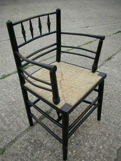 William Morris Chair called Sussex chair and used at Kelmscott Manor