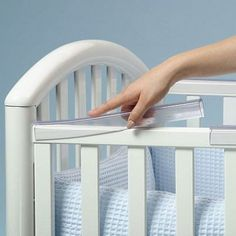Prince Lionheart Crib Rail Teether - The Prince Lionheart Crib Rail Teether protects your baby's teeth and soothes tender gums!