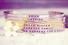 Inspirational Bracelets, Inspirational Jewelry | MantraBand® Bracelets