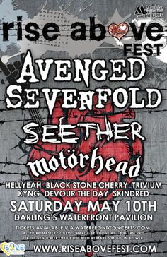 Rise Above Fest in Bangor, Maine - May 10, 2014 at Darling's Waterfront Pavilion - Waterfront Concerts