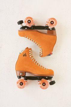 Retro Roller Skates, Roller Skate Shoes, Roller Skating, Outdoor Roller Skates, Roller Derby Skates, Orange Aesthetic, Retro Aesthetic, Flower Aesthetic, Urban Outfitters