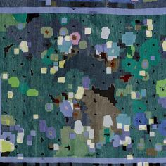 """Ever wondered what a rug inspired by both Chopin and the ringtone of actor Bill Murray's phone in the movie """"Lost in Translation"""" might look like? Here it is, """"Fantaisie Impromptu"""" by German rug company Reuber Henning from the Lost in Translation Collection."""