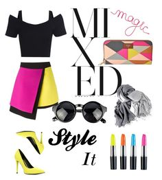 """""""Mixed Magic"""" by chanlee-luv ❤ liked on Polyvore featuring FOSSIL, FAUSTO PUGLISI and ALDO"""