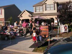 Go garage saling at the crack of dawn *Done- 04/28/2012*