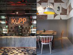 Kupp Café by DesignLSM, London – UK » Retail Design Blog