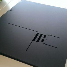 """Laser cut portfolio, thanks to MTRL Design. This came out so good. Thanks Nick & Josh. Portfolio D'architecture, Portfolio Cover Design, Portfolio Covers, Creative Portfolio, Folder Design, Professional Logo Design, Cover Pages, Laser Cutting, Layout Design"