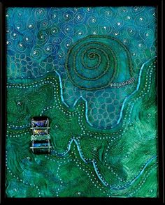 Sea Dreams by Larkin Jean Van Horn.  See for amazing sights:  http://www.larkinart.com/Rocks-and-Water