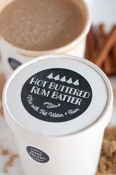 Edible Gift: Hot Buttered Rum Batter | Evermine Blog | www.evermine.com