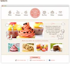 Moonfruit Template - Bakery #website #design | Design | Pinterest ...