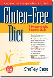Gluten-Free Diet: A Comprehensive Resource Guide by Shelley Case, RD. The editors at Allergic Living highly recommend her book Gluten-Free Diet, a vital resource for those interested in celiac disease and living gluten-free.