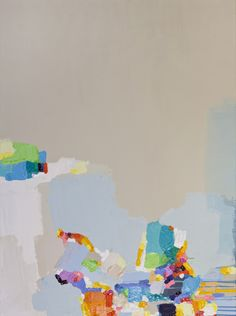 "Saatchi Online Artist: Claire Desjardins; Acrylic, 2011, Painting ""Restless"""