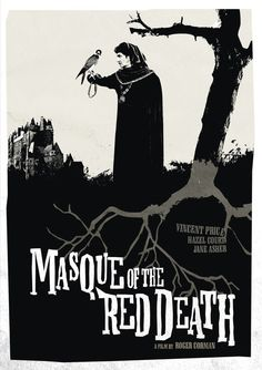 Masque of the Red Death movie poster design