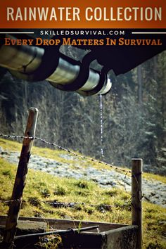 How To Design A Rainwater Collection System For Survival #prepper #survival