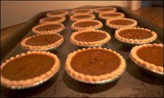 The Everyday Vegetarian: Pumpkin Pie Tarts