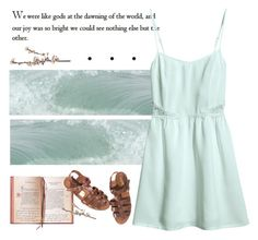 """""""You'll dissolve into sea foam, drifting forever"""" by nymphetdream ❤ liked on Polyvore featuring H&M"""