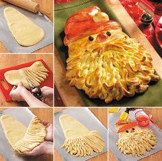 How to Make Golden Santa Bread - Cooking - Handimania