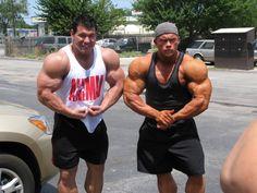 Steve Kuclo and Ben Pakulski