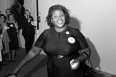 """""""You can pray until you faint, but unless you get up and try to do something, God is not going to put it in your lap."""" - Fannie Lou Hamer (October 6, 1917 – March 14, 1977) Happy 99th Birthday!!!"""