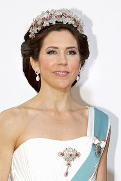 Princess Mary Photo - The Danish Royal Family Celebrates Queen Margrethe II's 70th birthday