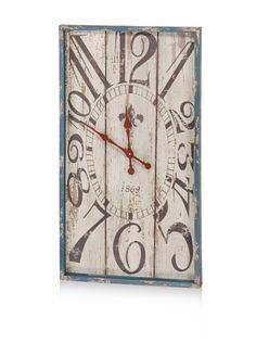80% OFF Tiempo Wall Clock