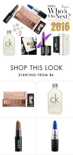 """""""wishlist 2016"""" by mileystitch on Polyvore featuring Urban Decay, Calvin Klein, Huawei, NYX and MAC Cosmetics"""