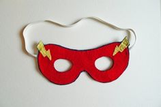 Masks are another superhero essential.