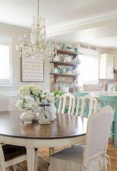 51 Lasting Farmhouse Dining Room Decor Ideas