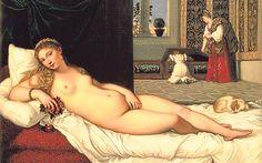'Venus of Urbino' by Titian (Tiziano Vecellio) (c.1488-1576)