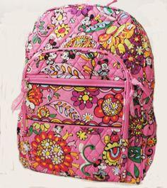 NWT Disney VERA BRADLEY Just Mousing around  Campus Backpack Book school bag  | Clothing, Shoes & Accessories, Women's Handbags & Bags, Backpacks & Bookbags | eBay!