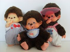 I don't know if I think they're as cute as I did when I was a kid, but I loved my Monchichi doll. My Cabbages, Pound Puppies, The Time Machine, Cabbage Patch Kids, Little Monkeys, Heart For Kids, Happy Kids, Back In The Day, Legos