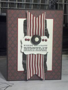 Masculine Cajun Birthday by zipperc98 - Cards and Paper Crafts at Splitcoaststampers
