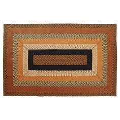 Harvest Time Jute Rug-  Very Limited Availability
